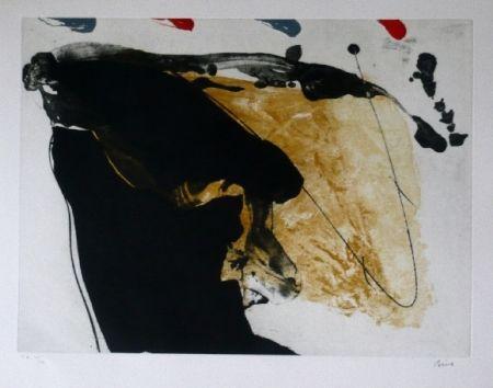 Aguafuerte Y Aguatinta Bird - Abstract 7