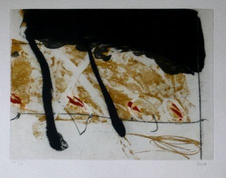Aguafuerte Y Aguatinta Bird - Abstract 8