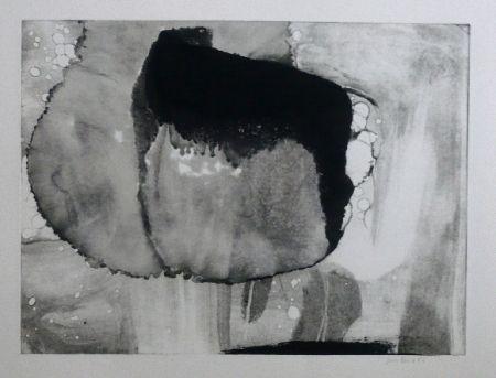 Aguafuerte Y Aguatinta Bird - Abstract 9