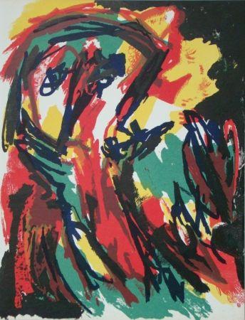 Litografía Appel - Abstract person