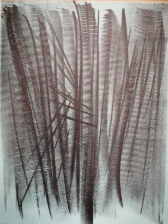 Litografía Hartung - Abstraction