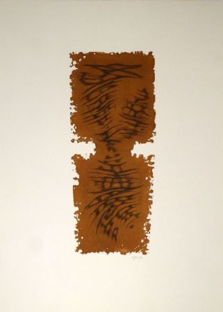 Aguafuerte Y Aguatinta Springer - Abstrakte Komposition