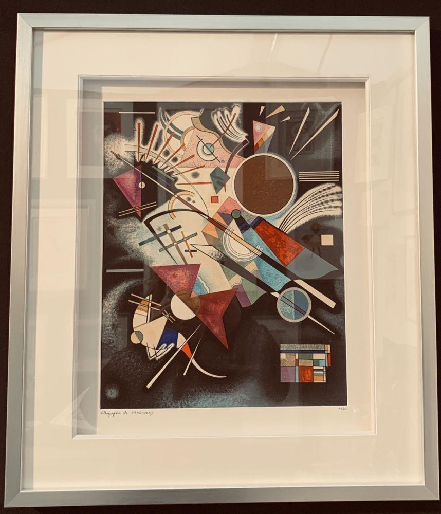 Litografía Kandinsky - Accompagnement en noir