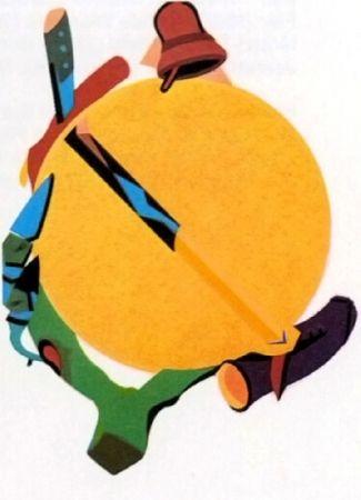 Litografía Telemaque - Accroche soleil