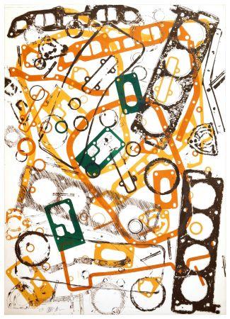 Litografía Arman - Accumulation Renault