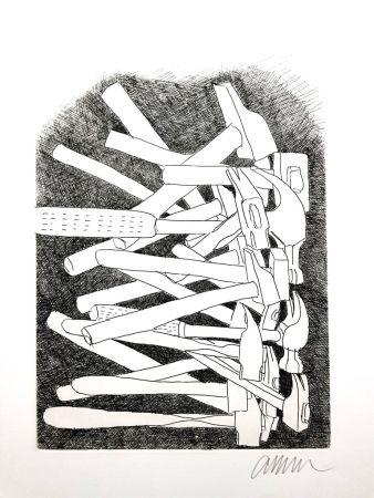 Litografía Arman - Accumulations