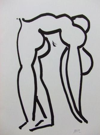 Litografía Matisse - Acrobate