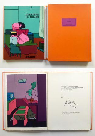Libro Ilustrado Adami - ADAMI. Derrière le Miroir n° 188. Nov. 1970. TIRAGE DE LUXE SIGNÉ.