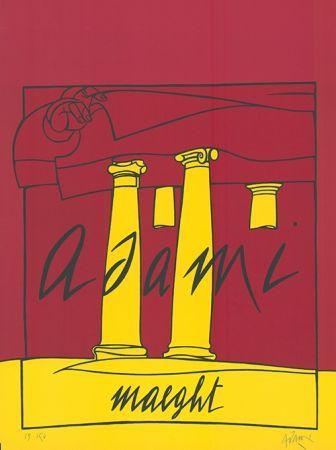 Litografía Adami - Adami /  Maeght