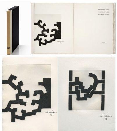 Libro Ilustrado Chillida - ADORACION. Funeral Mal, I. (José-Miguel ULLAN - Marguerite DURAS (1977).