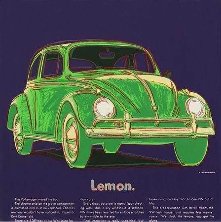 Serigrafía Warhol - ADS: VOLKSWAGEN FS II.358