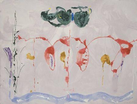 Serigrafía Frankenthaler - Aerie