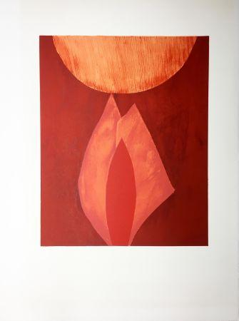 Litografía Bazaine - AFF AVT MAM (BLASONS). Lithographie originale de 1975.