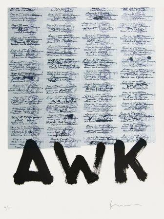 Litografía Gasiorowski - AFF AVT N°1028