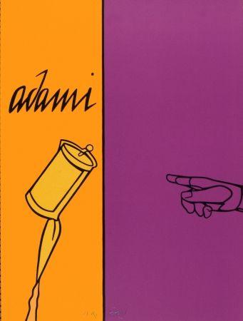 Litografía Adami - Aff Avt N° 155