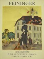 Cartel Feininger - Affiche d'exposition