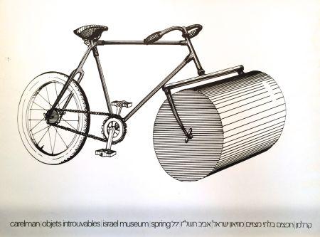 Serigrafía Carelman - Affiche d'Exposition
