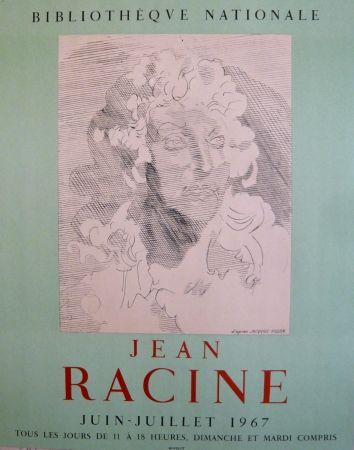 Cartel Villon - Affiche exposition Jean Racine BNF