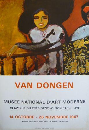 Cartel Van Dongen - Affiche exposition Musée d'art moderne