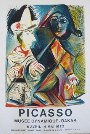 Cartel Picasso - Affiche exposition Musée dynamique de Dakar