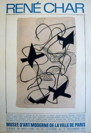 Cartel Braque - Affiche exposition René Char