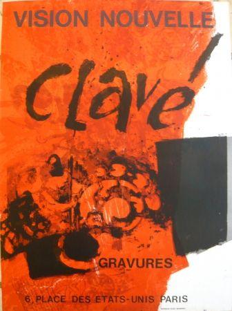 Cartel Clavé - Affiche exposition Vision nouvelle