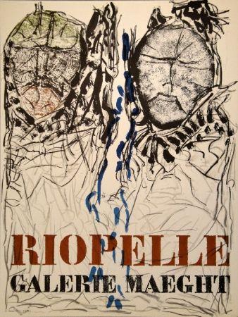Cartel Riopelle - Affiche Galerie Maeght