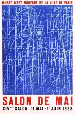Cartel Ernst - Affiche Lithographié Pour Le Salon De Mai
