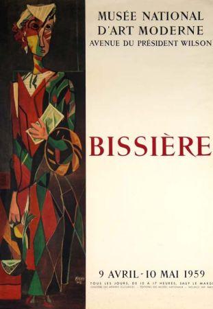 Litografía Bissiere - Affiche Musee D'art Moderne de Paris