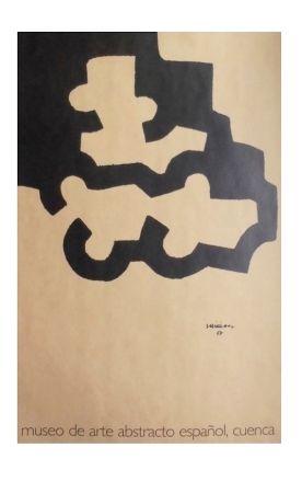 Litografía Chillida - Affiche Museum Cuenca