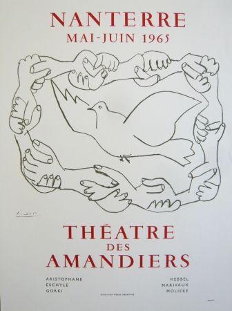 Cartel Picasso - Affiche théâtre des Amandiers