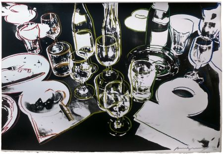 Serigrafía Warhol - AFTER THE PARTY FS II.183