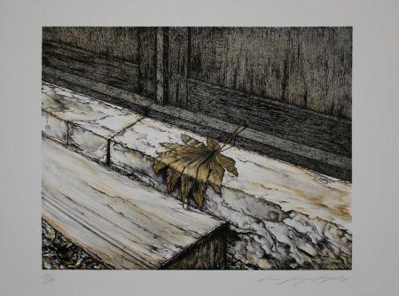 Litografía Siegert - Ahornblatt / Maple Leaf
