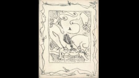 Libro Ilustrado Masson - AINSI DE SUITE (Pierre-André Benoit. 1960). 6 gravures érotiques.