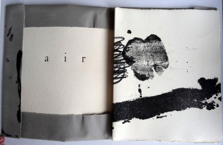 Libro Ilustrado Tàpies - Air - Tàpies André du Bouchet - Maeght