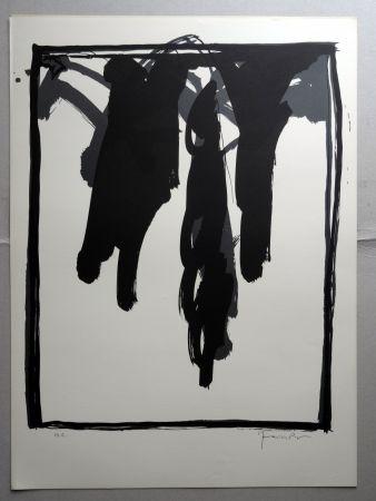 Litografía Hernandez Pijuan - A.L. Barcelona-III