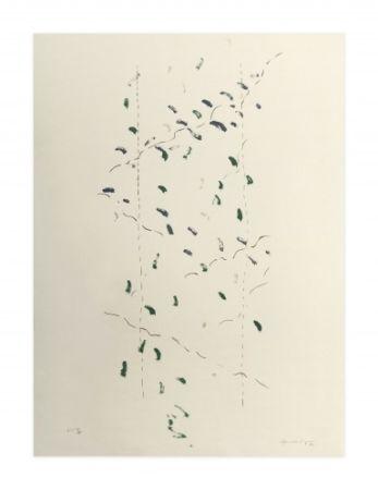 Litografía Hernandez Pijuan - A.L. Osaka (avant-la-lettre Osaka)