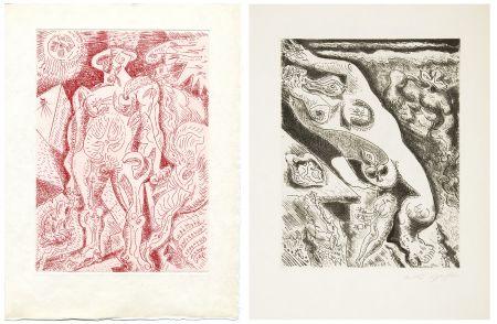 Libro Ilustrado Masson - Alain Jouffroy : LE SEPTIÈME CHANT (1974)