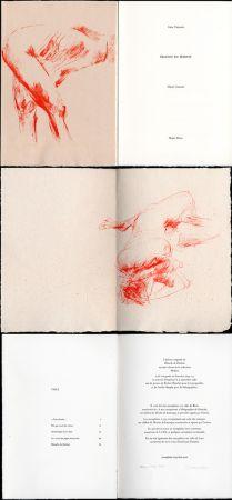 Libro Ilustrado Garache - Alain Veinstein. ÉBAUCHE DU FÉMININ. Maeght 1981