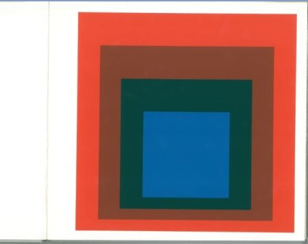 Serigrafía Albers - Albers - Homages to the Suare als Wechselwirkung der Farbe
