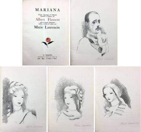 Libro Ilustrado Laurencin - Albert Flament : MARIANA (1932)