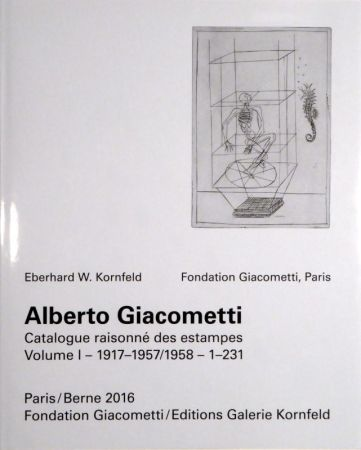Libro Ilustrado Giacometti - Alberto Giacometti. Catalogue raisonné des estampes.