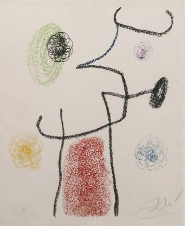 Litografía Miró - ALBUM 21: ONE PLATE