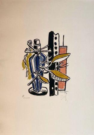 Litografía Leger - Album de 10 sérigraphies