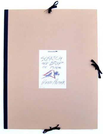 Litografía Humair - Album Scratch & Bop on paper