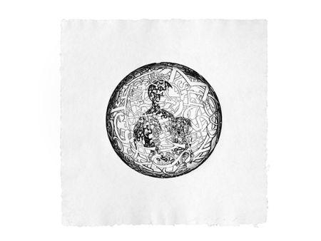 Grabado Plensa - Alchimistes 4