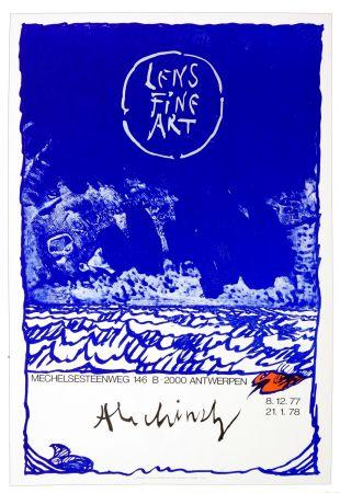 Cartel Alechinsky - Alechinsky, 1977