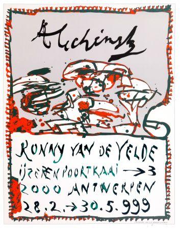 Cartel Alechinsky - Alechinsky 1999