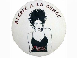 Serigrafía Miss.tic - ALERTE A LA BOMBE