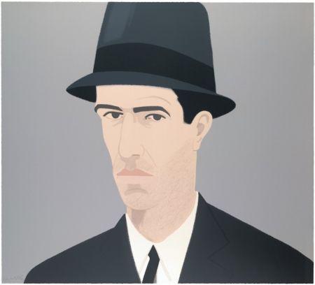 Serigrafía Katz - Alex Katz Passing Self Portrait (Alex and Ada Suite)